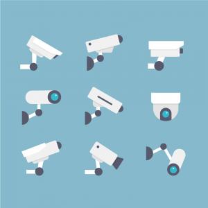Enregistreur pour caméra de surveillance