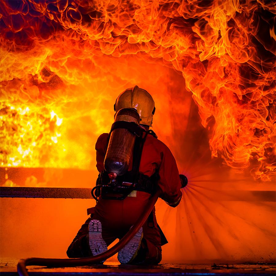 Réagir face à un incendie